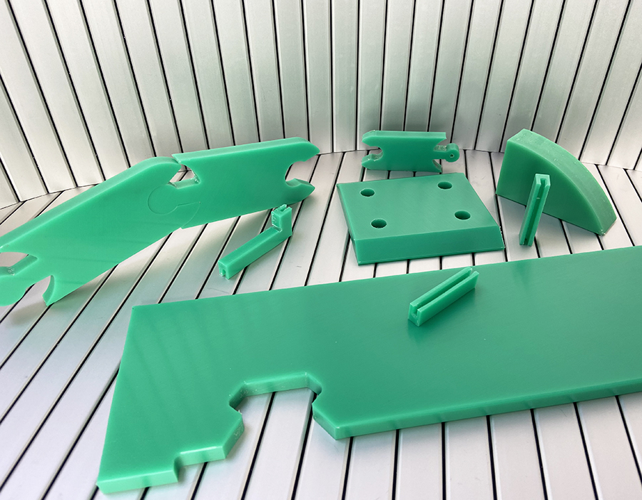 (PE) Polietileno | PE 500 y PE 1000. Plástico técnico para máquina-herramienta