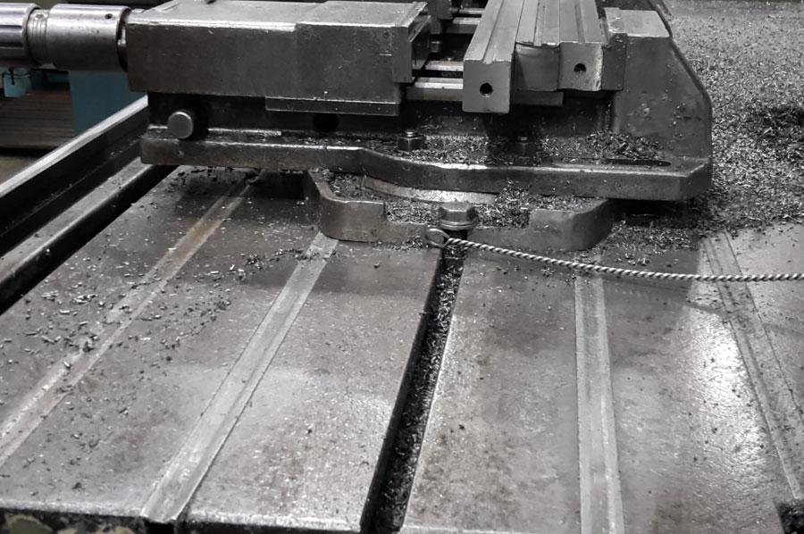 Cubre ranuras de aluminio
