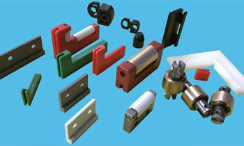 Accesorios para protecciones telescópicas de maquinaria industrial