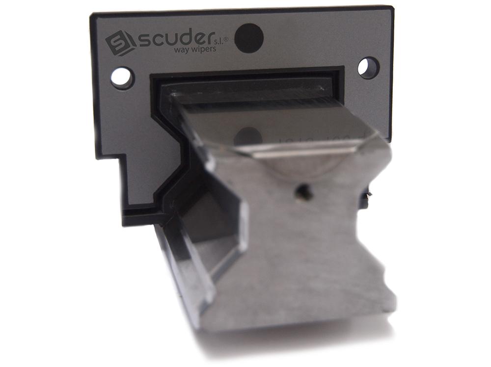Limpia guías / rascador serie FBA montado en guía