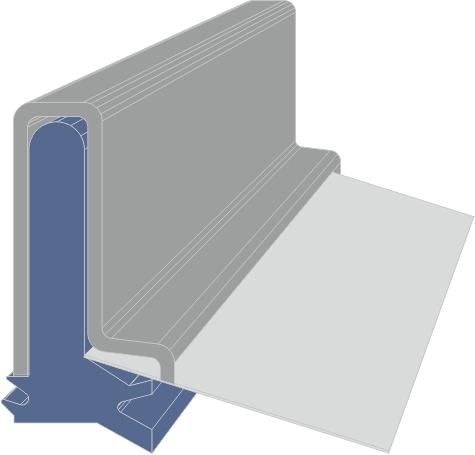 Limpia Guías para máquina / Rascadores para máquinas serie FAB extrusionado