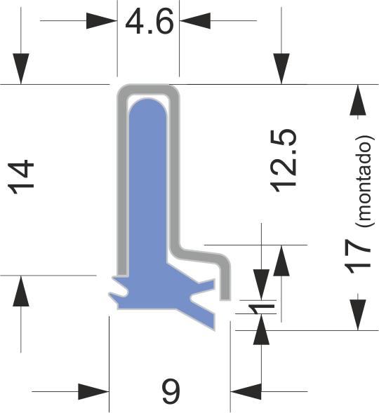 Limpia Guías / Rascadores para maquinaria industrial serie AB-1