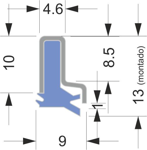 Limpia Guías para máquina-herramienta / Rascadores para máquina-herramienta serie AB-5