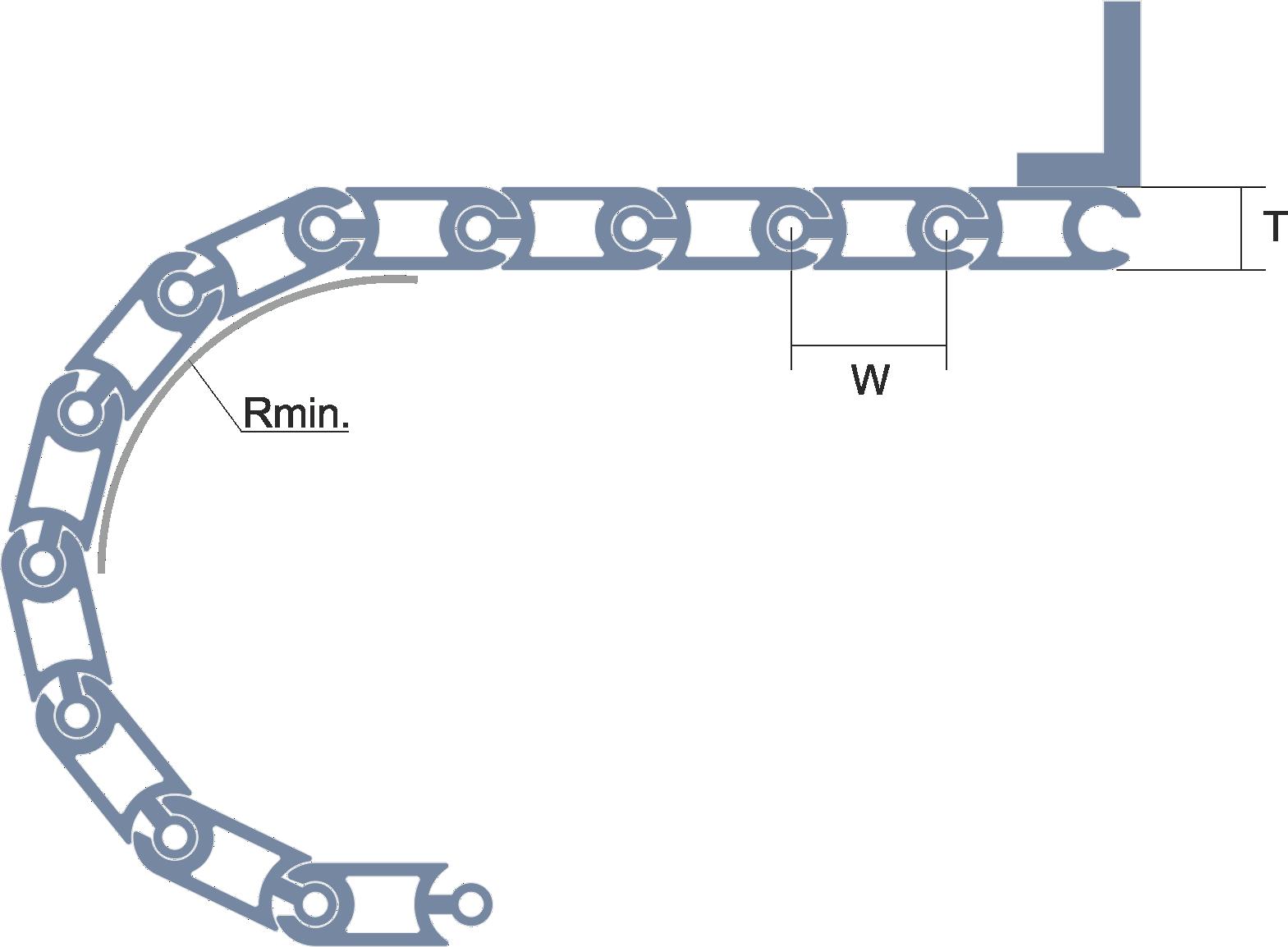 Persiana de protección para máquinas Modelo CLA