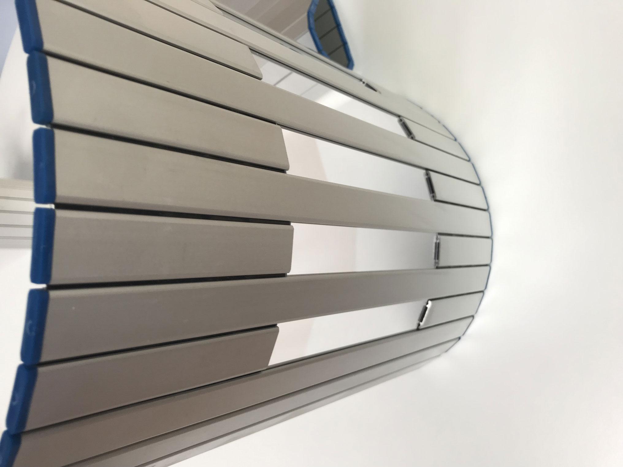 Persianas de protección para máquina modelo PHR con ventana