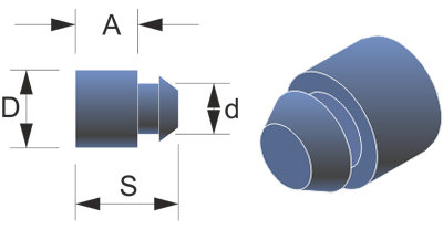 Topes Amortiguadores NBR TT-6.1