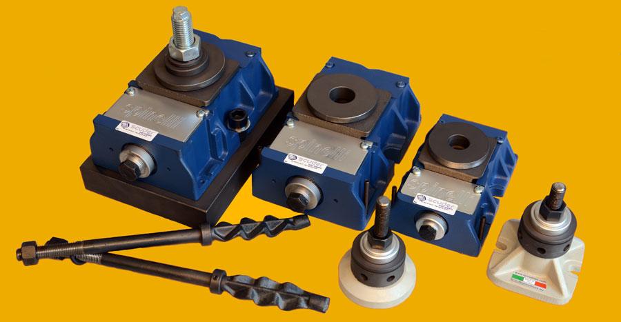 Niveladores para maquinaria o elementos anclaje y de nivelación para máquinas