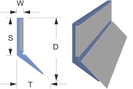 Limpia guías / Rascadores TIPO LMC con pre-rascador de inox